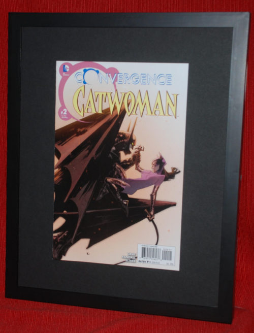 Comic Book Cover Art For Sale ~ Convergence comic shadow